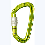 Petite photo de l'article Edelrid pure Screw mousqueton a visse