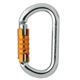 Photo de l'article Petzl mousqueton OK TRIACT LOCK